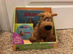 Scooby doo interactive story buddy stuffed animal, book, and cd for Sale in Corona, CA