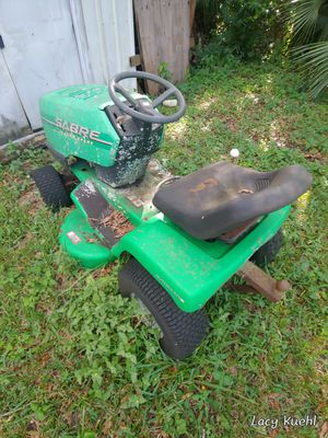 Riding lawn mower Sabre for Sale in Sarasota, FL