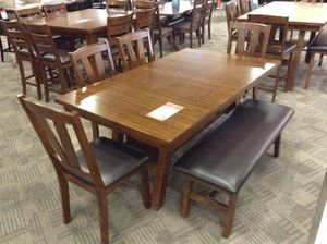 Table and chairs (bench extra) for Sale in Phoenix, AZ