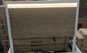 Light up Queen bed frame for Sale in Iowa City, IA