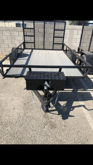 UTILITY TRAILER 6.5x14x1 SA RZR MODEL for Sale in Los Angeles, CA