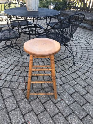 Wooden Stool for Sale in North Attleborough, MA
