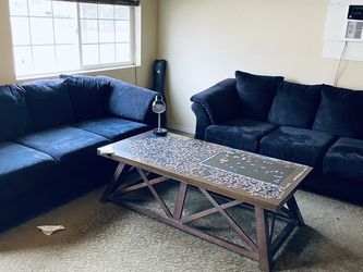 Set Of Two Suede Couches for Sale in North Bend,  WA