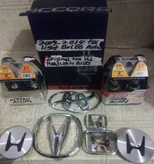 Honda headlights bulbs,nissan,toyota parts for Sale in Monrovia, CA