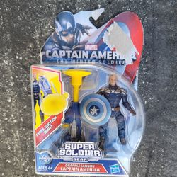 Marvel Captain America The Winter Soldier Super Soldier Gear Grapple Cannon NIB for Sale in Mountain View,  CA