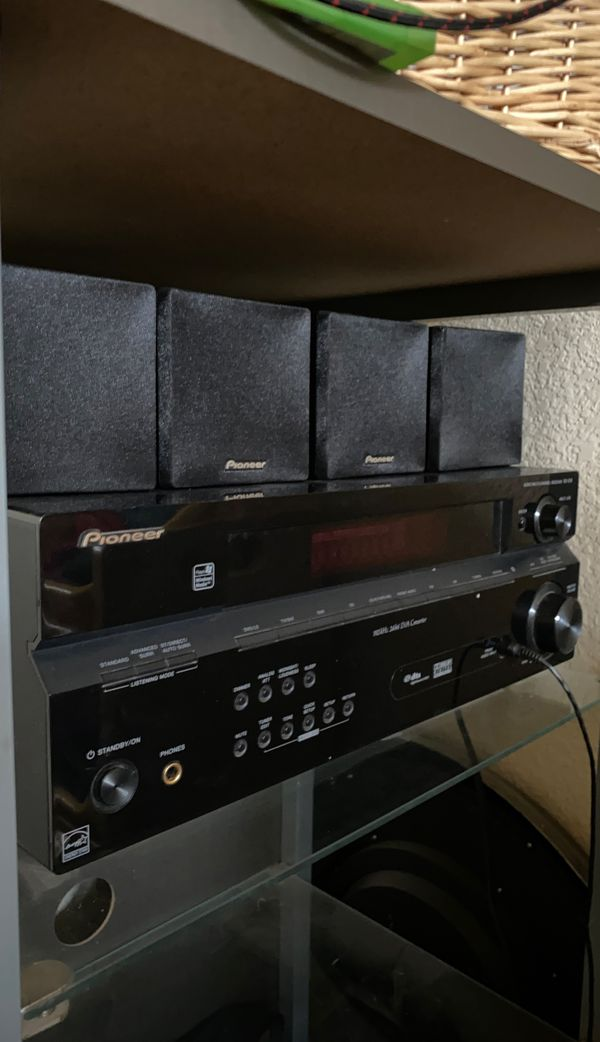 Pioneer home theater receiver system