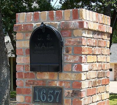 Brick Mailbox for sale