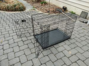 XXL Double Door Dog Crate for Sale in Rosedale, MD