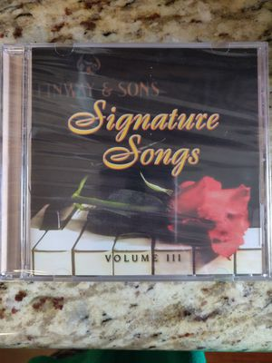 Steinway and Sons Signature songs Volume III for Sale in St. Louis, MO