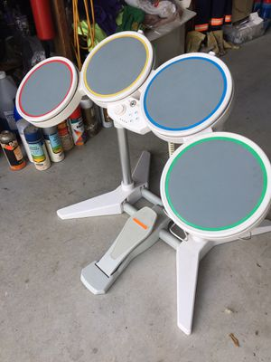 SET OF Wii DRUMS for Sale in San Ramon, CA