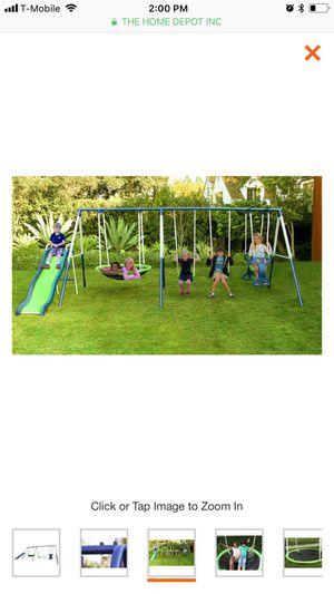 Rosemead metal swing and slide set for Sale in Glendale, AZ