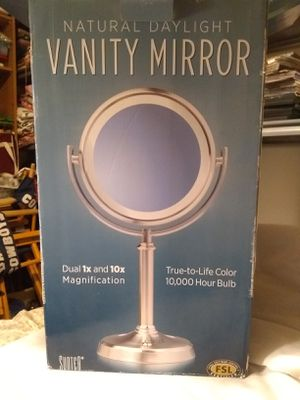 Vanity mirror with 10x magnification for Sale in La Verne, CA