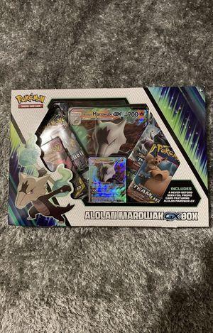 Pokemon TCG Alolan Marowak GX Box Sealed for Sale in Fort Meade, MD