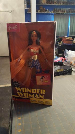 Wonder woman barbie for Sale in Fort Worth, TX