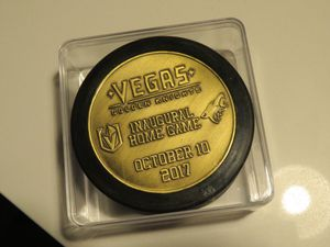 Vegas Golden Knights Puck for Sale in Las Vegas, NV