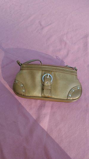 Gold wristlet purse for Sale in Ferndale, MI
