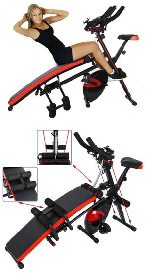 EXERCISE BIKE + EXERCISE BENCH / MULTIFUNCTION EXERCISE EQUIPMENT - BRAND NEW AND ASSEMBLED for Sale in Glendale, CA