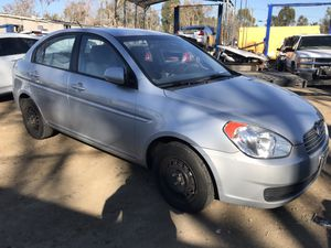 2011 Hyundai Accent for parts only (has bad engine) for Sale in Modesto, CA