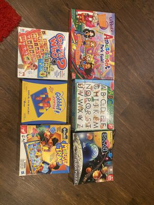 Broad games and puzzles all for $5 for Sale in Corona, CA