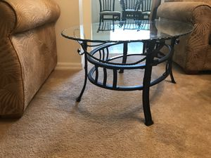 Two End Tables And Kitchen Table With Four Chairs for Sale in Haines City, FL
