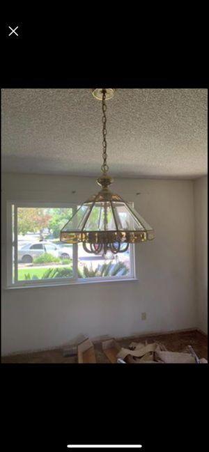 Elegant 10 light chandelier light fixture for Sale in Fresno, CA