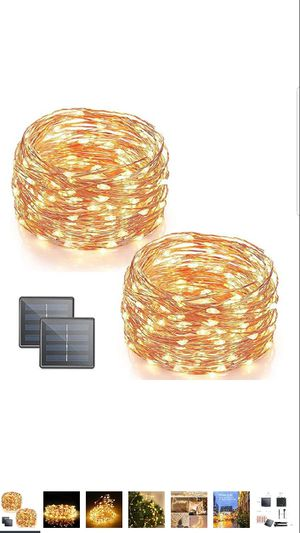 Solar strings light for outdoor decorative for Sale in Silver Spring, MD