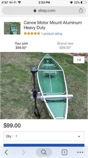 Aluminum transom for canoe for Sale in Lockport, IL