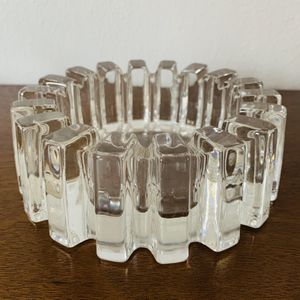Vintage Cut Glass Heavy Thick Ashtray for Sale in Dallas, TX