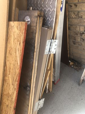 Carriage door. Great for a garage! 44 inches wide and over 80 inches tall. Solid and very heavy. for Sale in Arvada, CO