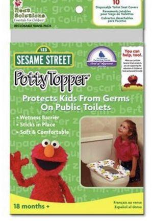 Sesame Street Potty Topper (Set of 3) for Sale in Alexandria, VA