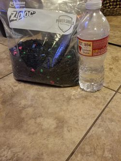 Fish Tank Bag Of Gravel (2 Available) for Sale in Phoenix,  AZ