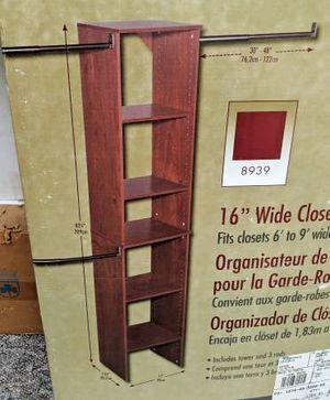 New-in-box Modular 5-shelf Closet Organizer Tower Kit for Sale in Sunnyvale, CA