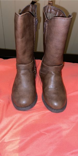 Toddler girl tall boots size 8C for Sale in Buffalo, NY