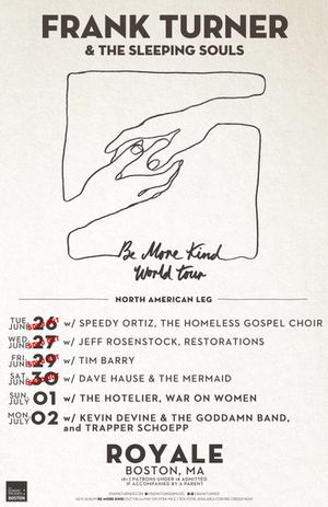 One (1) Frank Turner ticket, 6/27, SOLD OUT SHOW for Sale in Boston, MA