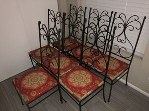 Iron Chairs for Sale in Scottsdale, AZ