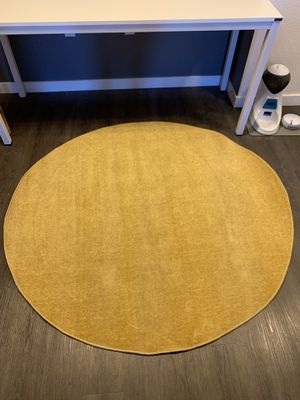 Gold Yellow Area Rug for Sale in Denver, CO