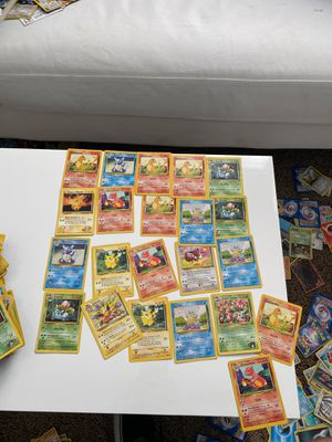 Pokémon cards vintage for Sale in San Juan Capistrano, CA
