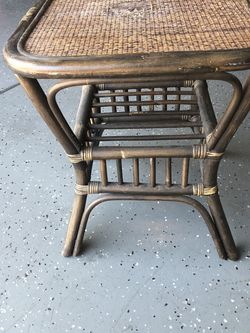 Bamboo Side Table for Sale in Ontario,  CA