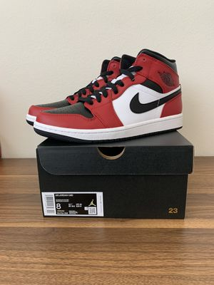 Nike Air Jordan 1 Mid Chicago Size 8 for Sale in Burbank, CA