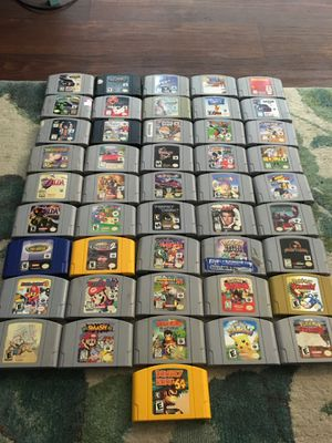 Nintendo 64 + 45 games for Sale in Vancouver, WA