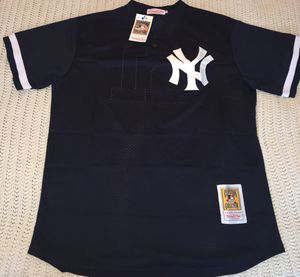 Bernie Williams Yankees throwback baseball jersey brand new large $30 for Sale in Forest Park, IL