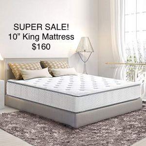 "SALE!!! OLEE 10"" Gel Hybrid King Size Mattress for Sale in Mason, OH"