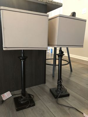Set of two lamps for Sale in IL, US