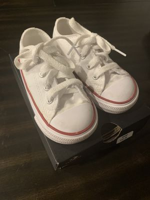 6C Optical White Converse for Sale in Valrico, FL