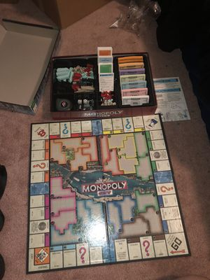 Monopoly City board game for Sale in Miami, FL