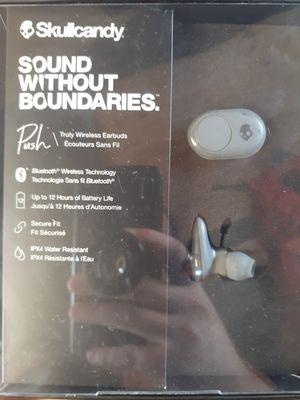 **BRAND NEW skullcandy push bluetooth headphones for Sale in Everett, WA
