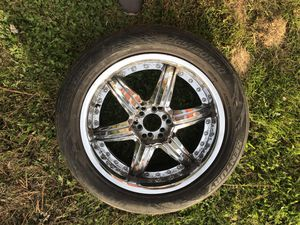 20 inch F5 Rims Chrome for Sale in Vancouver, WA
