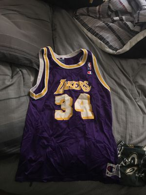 Shaquille O'Neal Lakers Jersey for Sale in Charlotte, NC