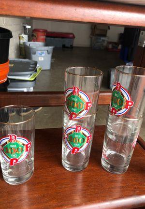Phillies Vintage Collectible glasses for Sale in Phoenix, AZ
