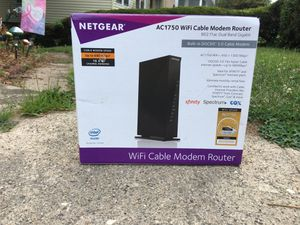 WiFi cable modem router for Sale in Waterbury, CT
